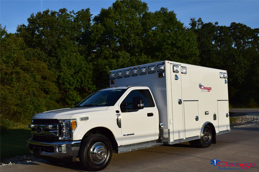 Type I Warrior Ford F350 Demo Ambulance Sold To The Phoenix Group
